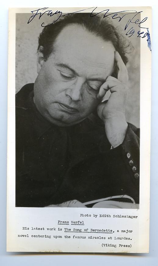 Franz Werfel jacobowsky
